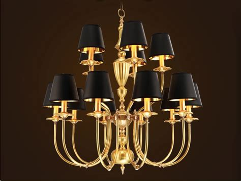 Modern Black Chandeliers Modern Black And Brass Chandelier Musethecollective
