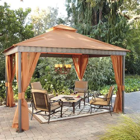 gazebo patio 27 garden gazebo design and ideas inspirationseek