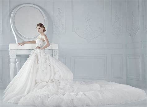today brides an excuse to put your wedding dress on again 17 best images about michael cinco wedding gowns on