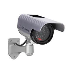 shop sunforce solar interior exterior simulated security camera at lowes com
