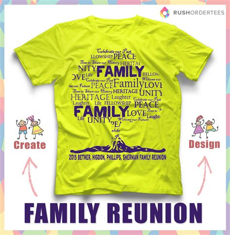 layout design for family reunion 40 amazing family reunion ideas family reunion t shirt