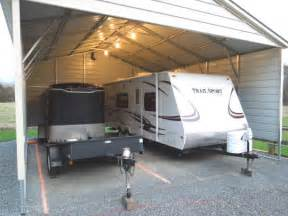 Carport Lighting Options 1 Simple Trick To Protect Your Outdoor Rv Storage Port
