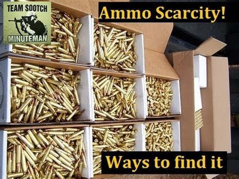 ammo scarcity: how to find ammunition youtube