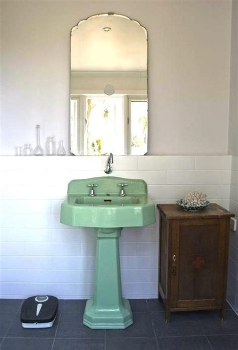 retro sinks bathroom best 25 mint green bathrooms ideas on grey