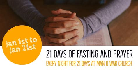 when is the day of fasting 2018 21 day fast and pray o war church