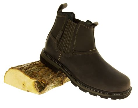 mens dealer boots for sale mens leather chelsea skechers boots dealer slip on outdoor