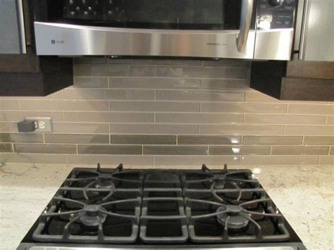 glass tile kitchen contemporary kitchen chicago by