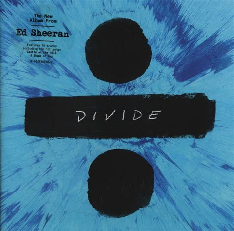 ed sheeran x album cover ed sheeran divide 2017 cd cover label