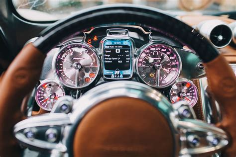 Pagani Huayra: The steampunk hypercar interior that will