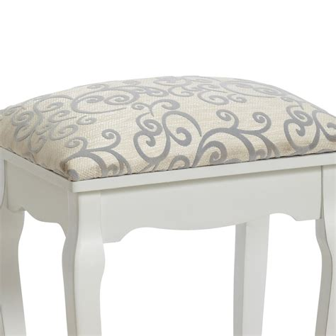 dressing table chair white stool quot baroque quot white for dressing table