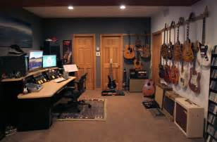 Home Guitar Studio Design by Etrnl Creativity Man Caves