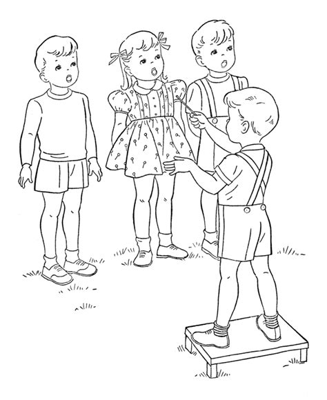 little girl singing coloring page singing coloring pages az coloring pages