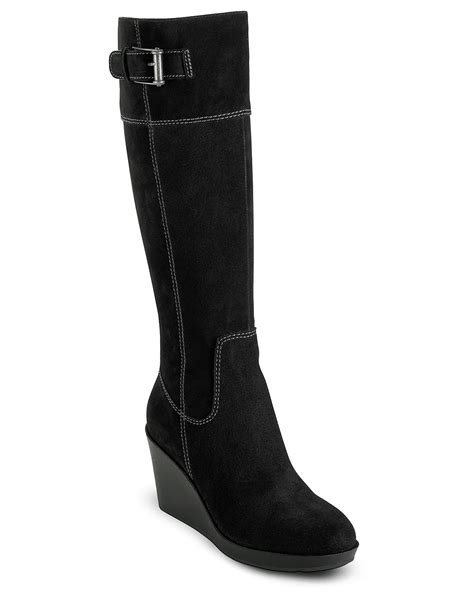 cole haan air quot tali quot wedge boots bloomingdale s
