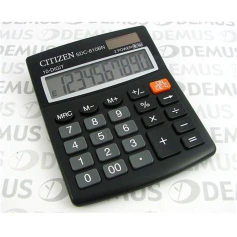 Kalkulator Sedang Citizen Sdc 810bn kalkulator citizen sdc 810bn por 243 wnaj zanim kupisz