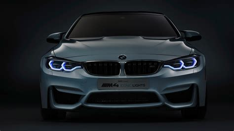 Bmw Lights by 2015 Bmw M4 Concept Iconic Lights Wallpaper Hd Car Wallpapers