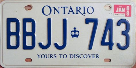 Ontario Vanity Plates by Whyfor License Plate Update Vanity Personalized Auto