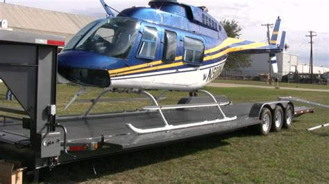 How To Transport A by Aerial Filmworks Helicopter Transport Trailer