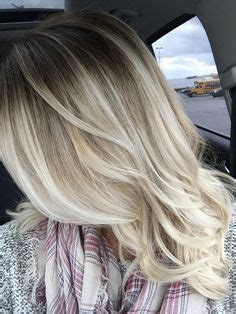 painting lowlights on gray hair beige blonde balayage highlights blondes pinterest