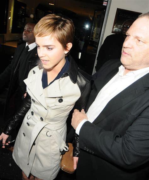 Emma Watson Harvey Weinstein Photo | harvey weinstein and emma watson at a pre bafta dinner in