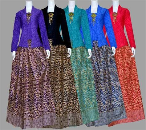 Setelan Kebaya Tille Rok Panjang ッ 29 model baju batik setelan wanita kombinasi rok
