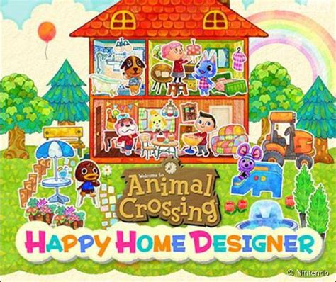 animal crossing happy home designer sur 3ds le d co du