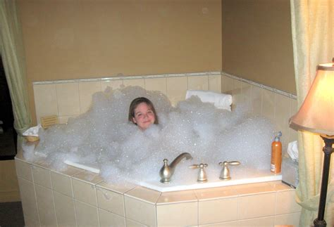 bubbles in bathtub down a long country road n is for never put too