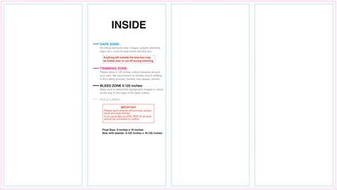 parallel fold brochure template parallel fold jpg inside