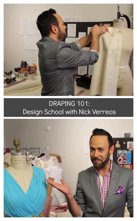 draping school draping 101 with nick verreos the sewing rabbit