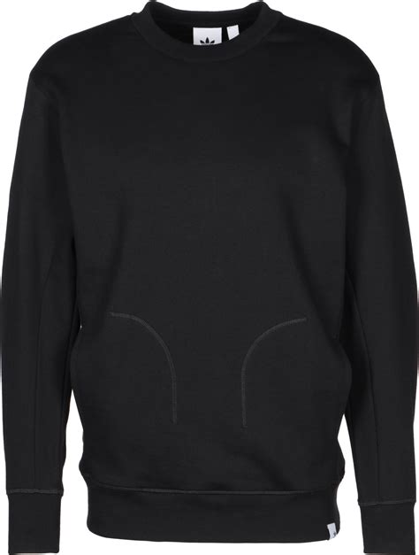 Sweater Black Addidas Basic adidas xbyo crew sweater black