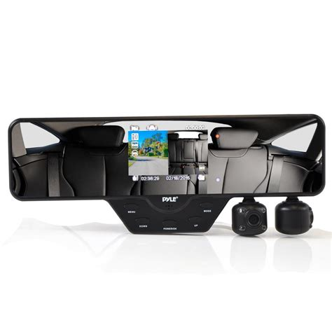 dash system pyle plcmdvr52 on the road rearview backup cameras