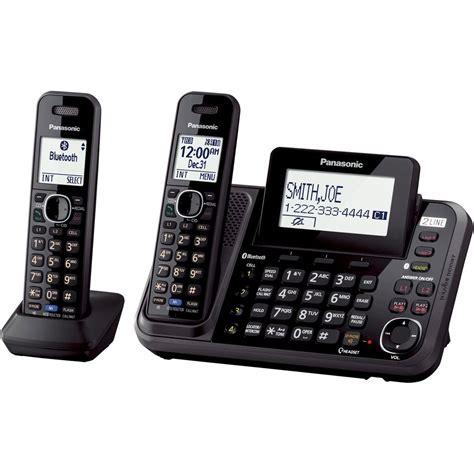 Telepone Wireless Cordless Panasonic Kx Tgc310 Speakerphone panasonic bluetooth 2 handset dect 6 0 cordless wireless