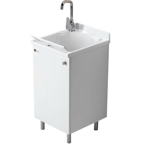 lavello montegrappa mobile lavatoio montegrappa 45x50 cm per interno con anta