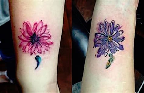 weird semicolon tattoo design for girls picsmine