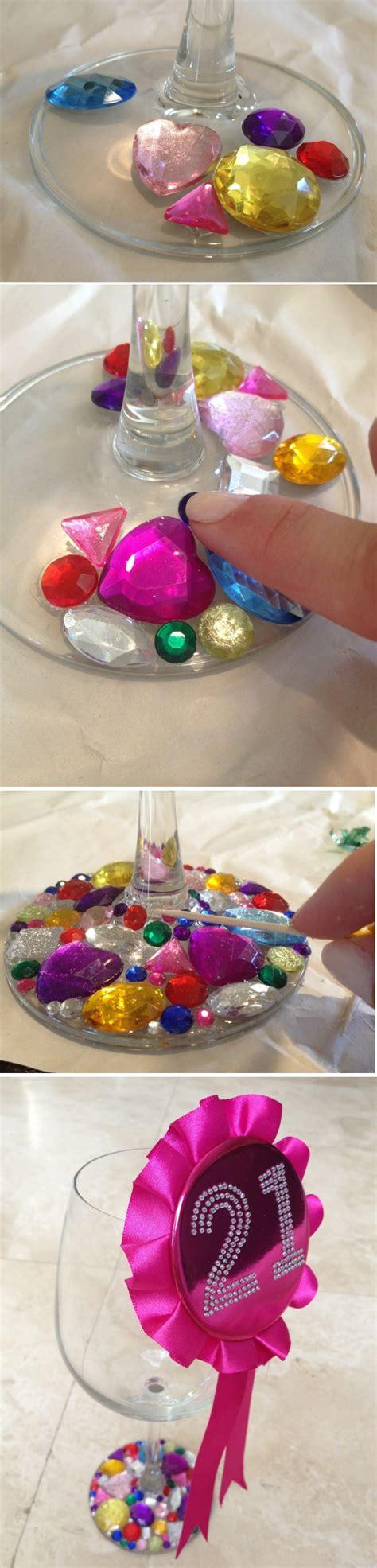 basteln mit gläsern 1001 ideen wie sie kreativ weingl 228 ser dekorieren k 246 nnen