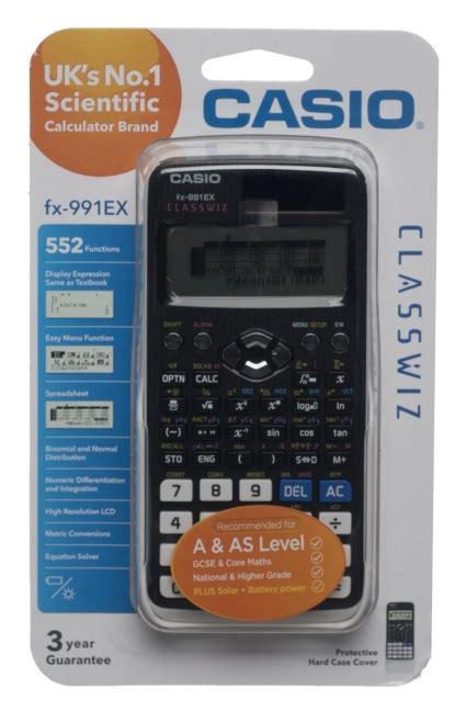 Casio Fx 991ex Tehnical Scientific Calculator calculators whsmith