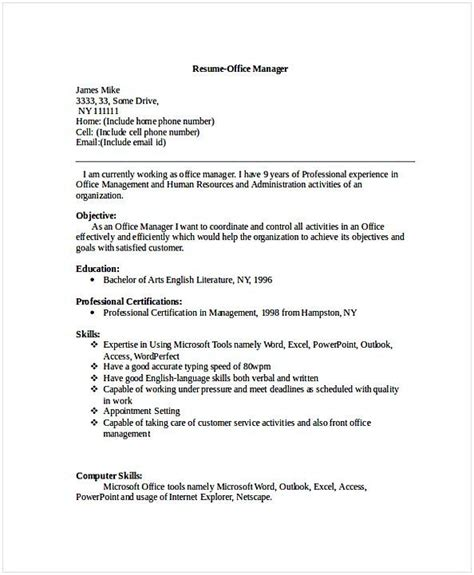 sle cv banquet manager choice image certificate