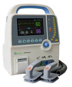cardiac arrest shock machine defibrillator rentals and leases kwipped