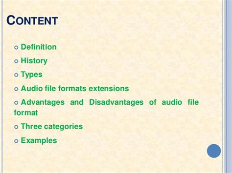 file format of audio cd audio file format