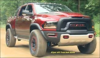 100 mph road 2017 ram rebel trx concept truck