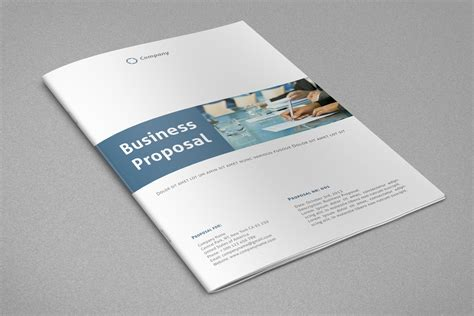 design business proposal professional annual report financial report business