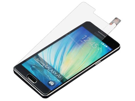 Tempered Glass Screen Protector Handphone Sam Galaxy A500 A5 2015 samsung galaxy a5 2015 screenprotector tempered glass