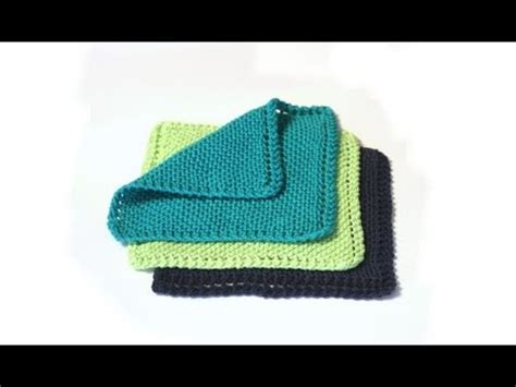 verypink knits learn to knit a dishcloth