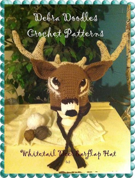 pattern whitetail deer whitetail deer crochet hat pattern by deb kdsh craftsy
