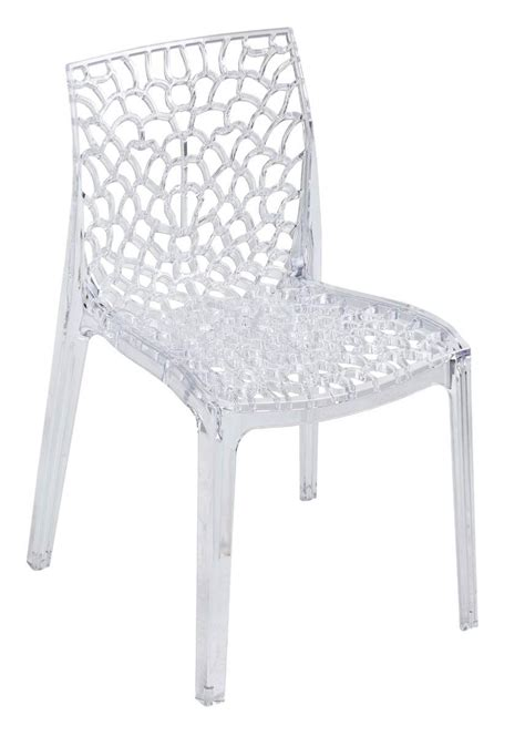 Chaise Transparente by Chaise Plastique Transparent