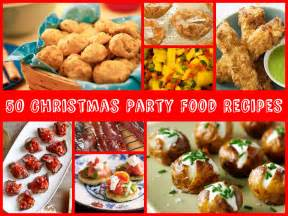 50 christmas party food recipes