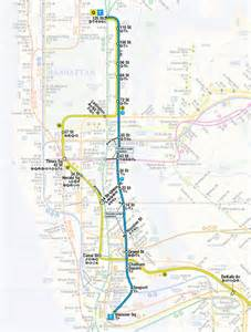 2nd Avenue Subway Map by Built Environment Blog The T