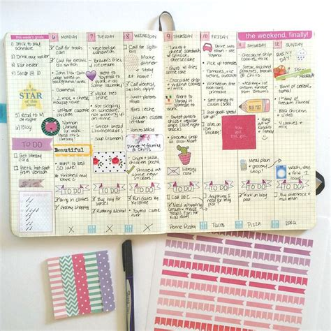 girly daily planner printable 1000 images about bullet journal on pinterest bullets