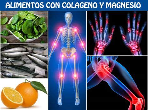 alimentos con colageno y magnesio y su importancia par el - Alimentos Ricos En Magnesio Y Colageno