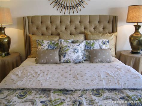 custom made headboards hand crafted tufted linen king bed headboard by sara