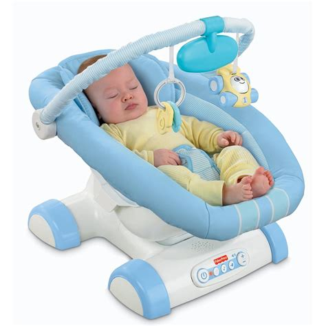 infant bouncy seat fisher price blue cruisin motion soother baby chair seat